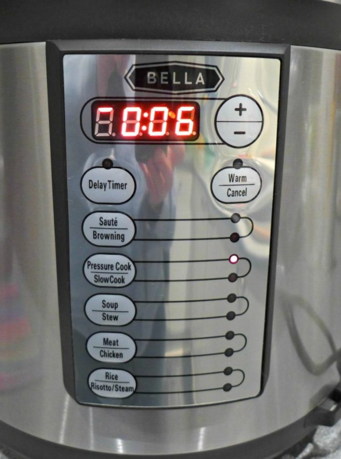 Bella electric pressure cooker review