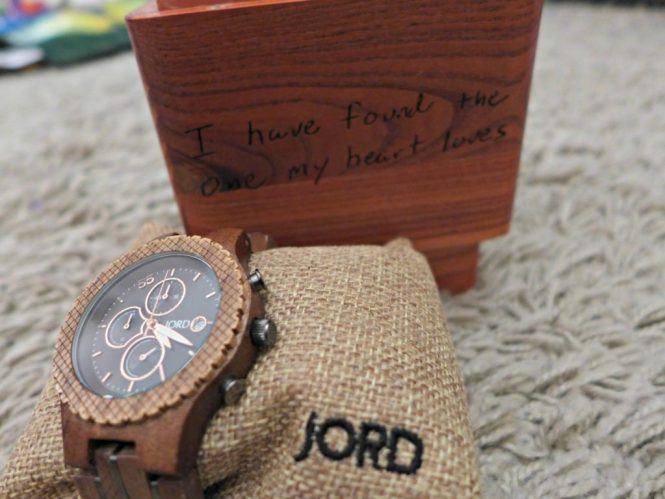 jord wood watch valentines gift for men