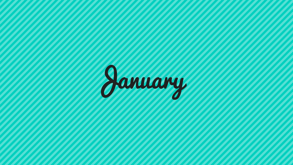 1/12 – Our January