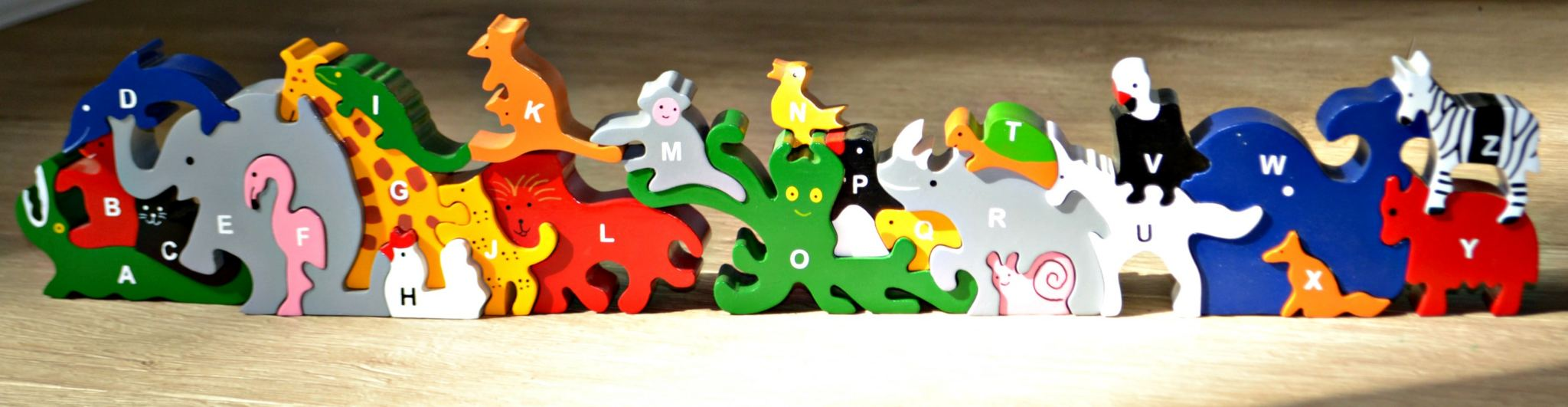 SRi Toys UK animal alphabet