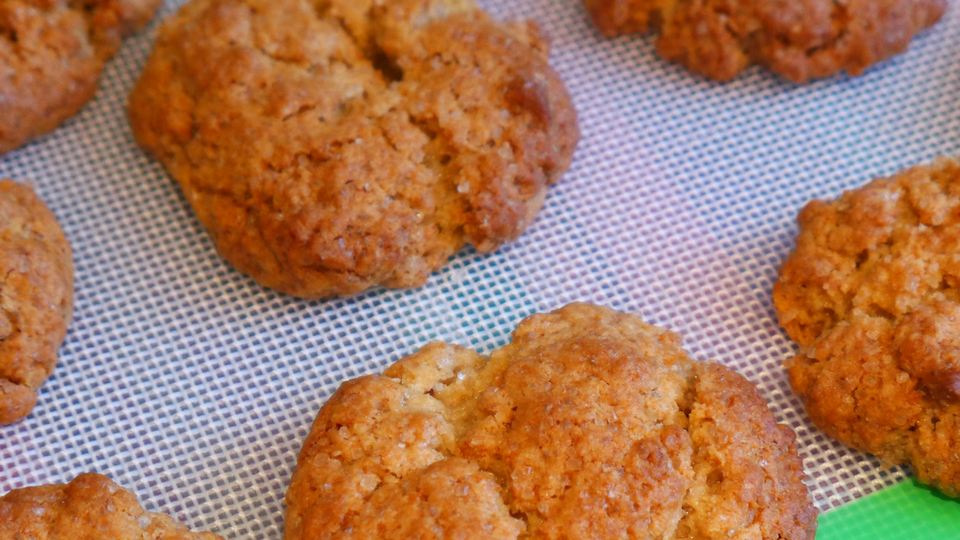 Super Quick and Easy Ginger Biscuits (& Giveaway)