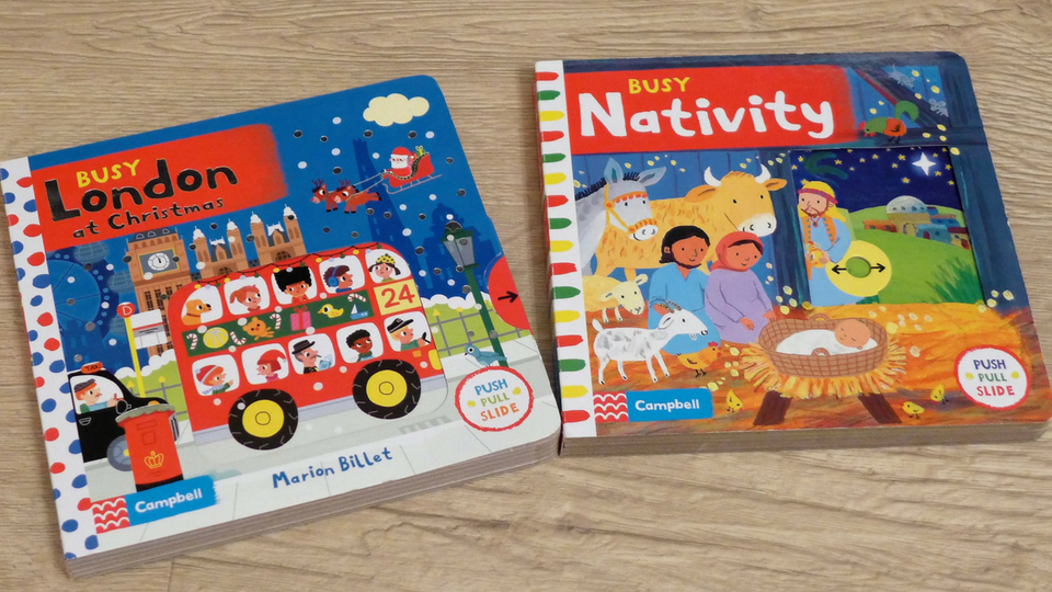 Getting Ready for Christmas with Campbell Books (& Giveaway)