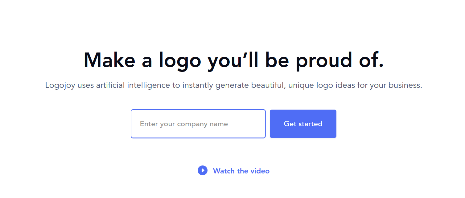 logojoy review