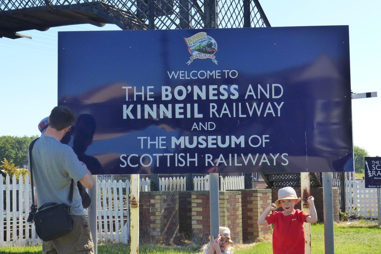 Bo'nessand Kinneil Railway