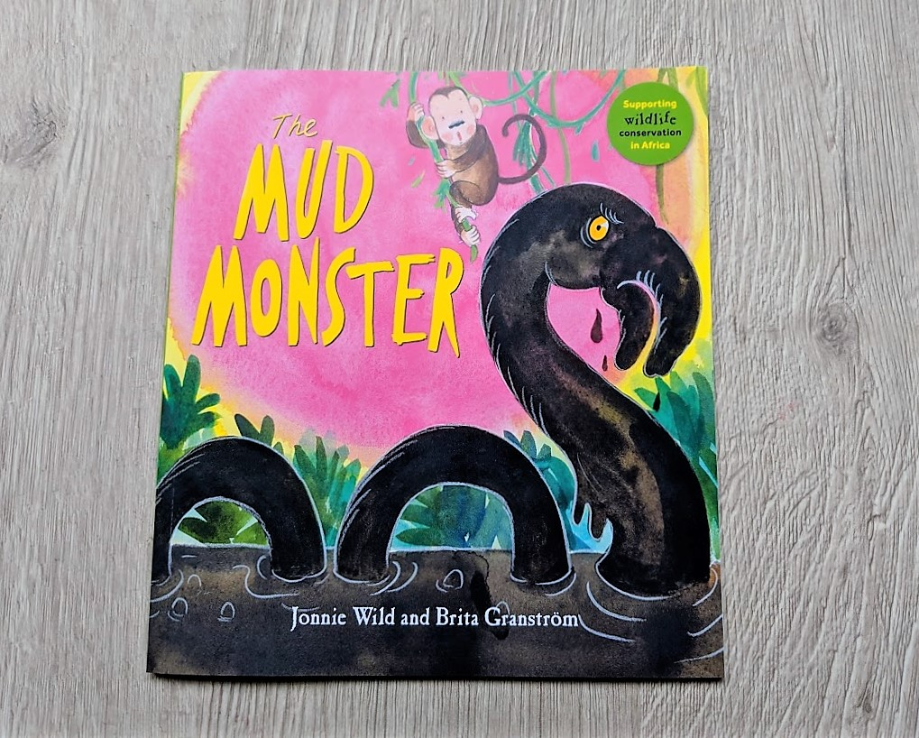 mud monster book