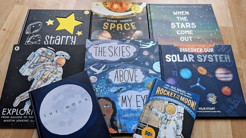 10 of the BEST Space Books for Curious Kids