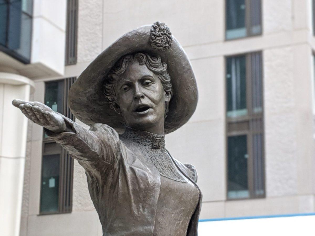Emmline Pankhurst Statue Manchester
