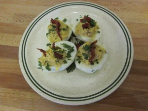 Jalapeno Deviled Eggs from Let There Be Food
