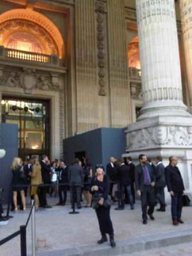The Opening of the Biennale des Antiquaires 2012...