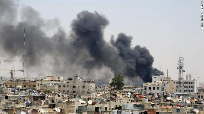 Damascus bombing...