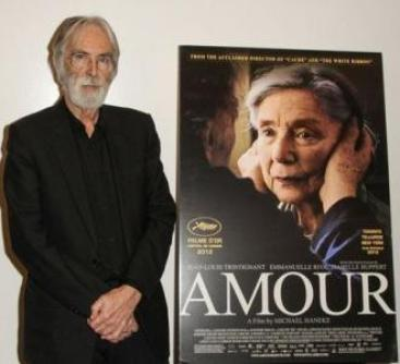 Haneke... Riva... and Trintignant... in Amour...