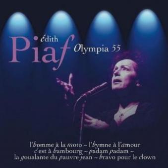 Edith Piaf at the Olympia... 1955...