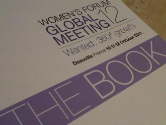 "Women's Forum Global Meeting 12's ""The Book""..."