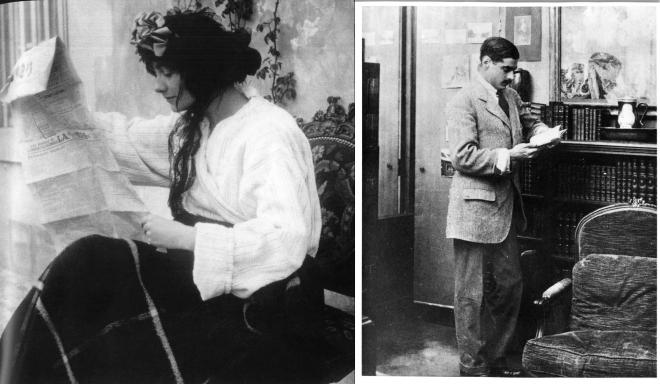 A young Coco Chanel and the love of her life Arthur Capel...