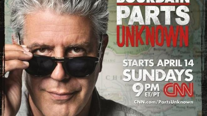 Anthony Bourdain... Parts Unknown...
