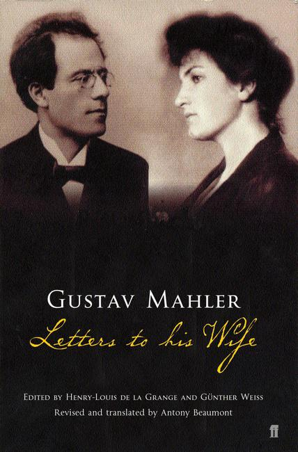 Gustav Mahler with his wife Alma...