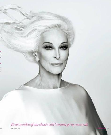 Carmen Dell'Orefice...