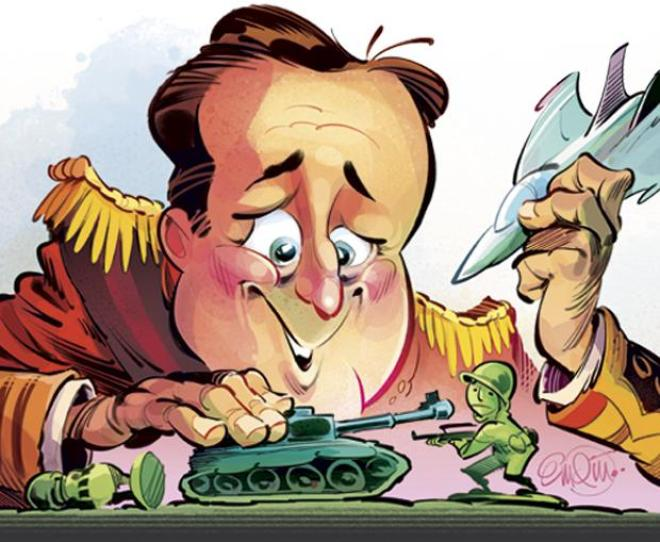Cameron... trying to enhance his electability...