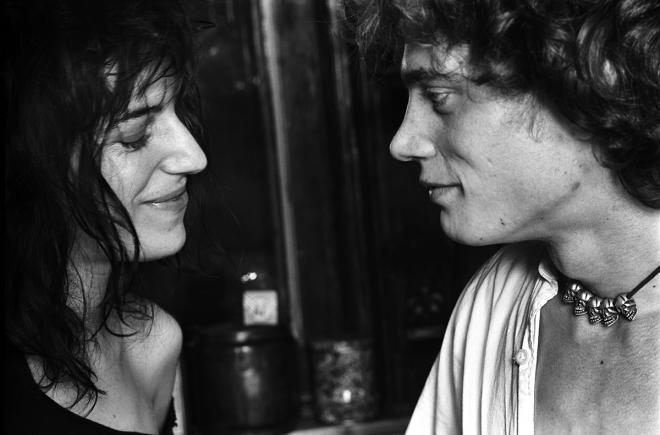 Robert Mapplethorpe and Patti Smith...