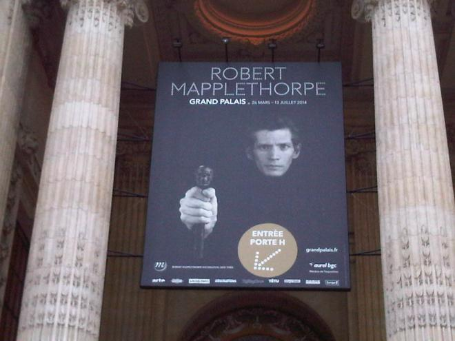 Robert Mapplethorpe retrospective at the Grand Palais...