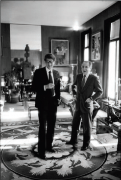 Yves Saint-Laurent and Pierre Bergé...