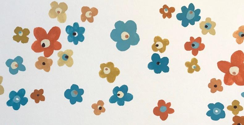 Fleurs esprit Vintage