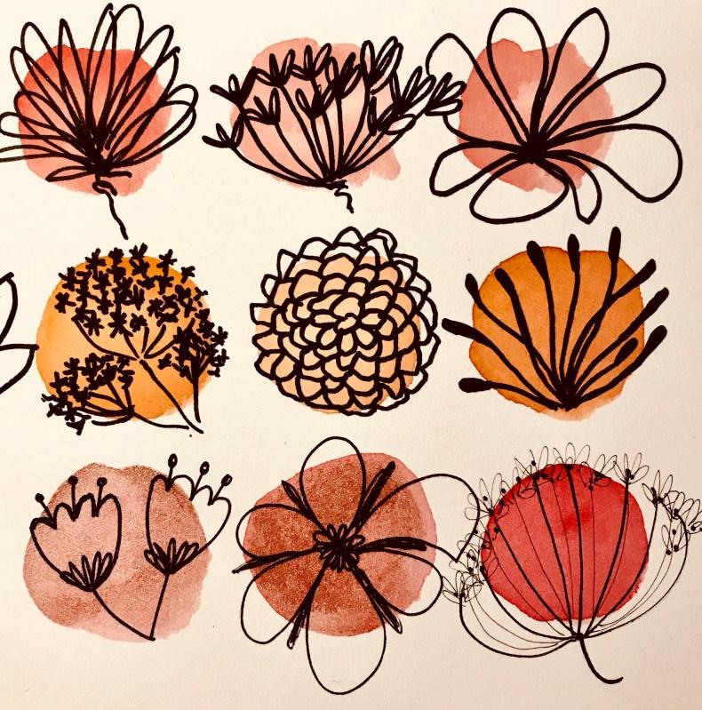 Recherches de fleurs (IV)