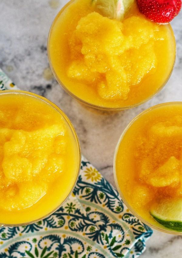 Frozen Mango Margaritas!