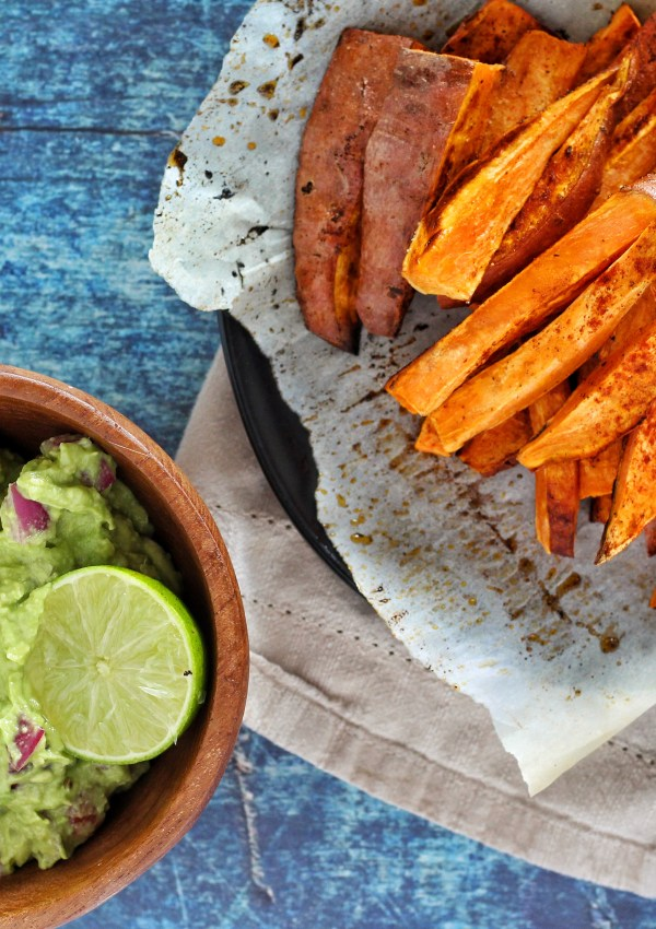 Sweet Potato Fries & Guacamole