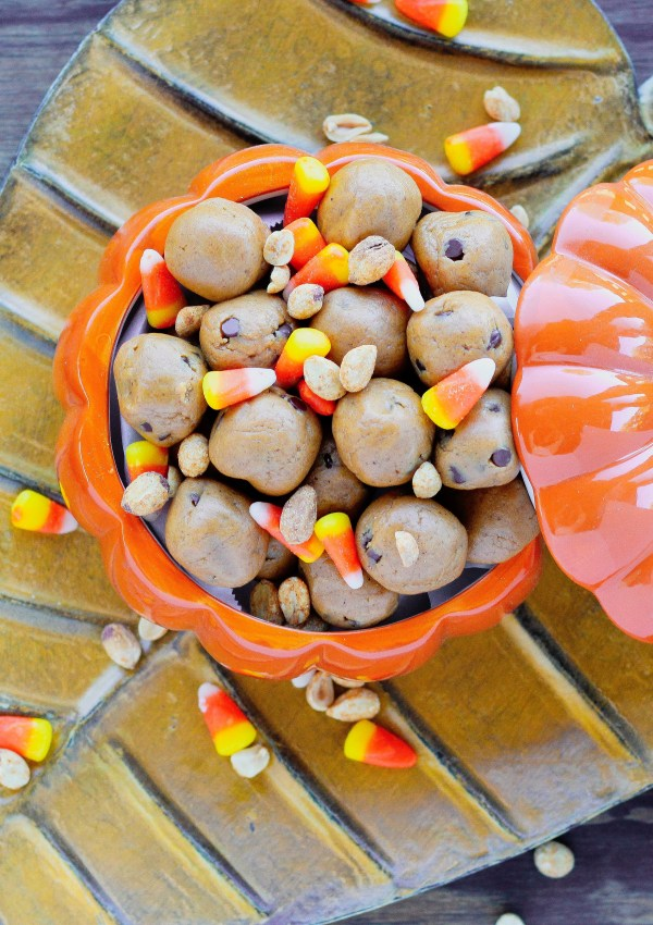 Pumpkin Spice Protein Bites