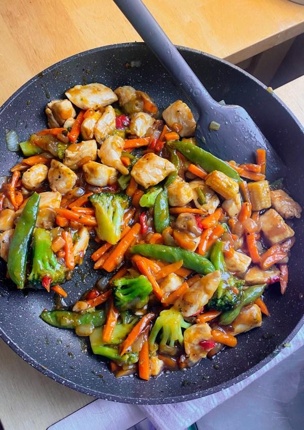15-Minute Stir Fry (Paleo & GF)