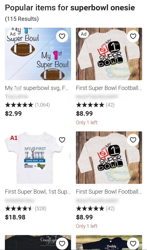 Etsy NFL Trademark Infringement