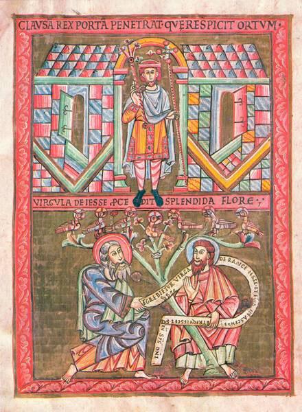 "Praga: codice di Vyšehrad, albero di Iesse | <a href=""https://commons.wikimedia.org/wiki/File%3AVratislav.jpg"">via Wikimedia Commons</a>"