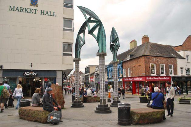 Shrewsbury, Inghilterra: Darwin's Gate