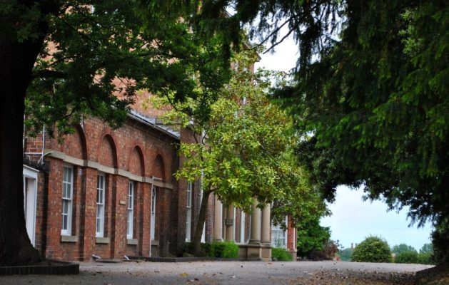 Shrewsbury, Inghilterra: Mount House, casa natale di Charles Darwin, esterno