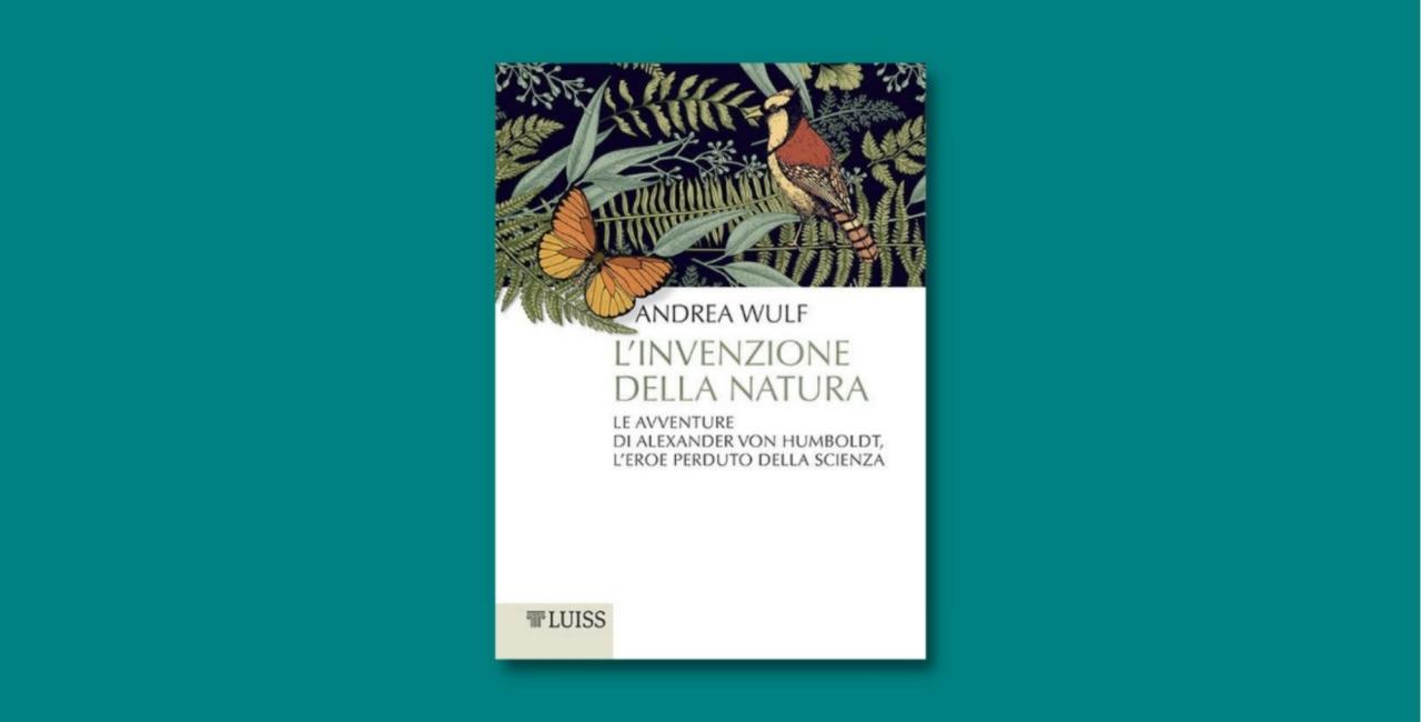 L'invenzione della natura, libro