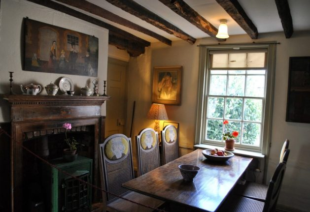 Monk's House, Rodmell, Virginia Woolf: sala da pranzo