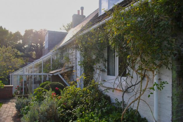 Monk's House, Rodmell, Virginia Woolf: esterno, vista della casa