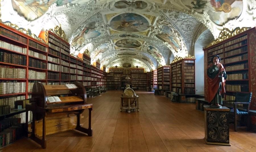 Sala teologica, Monastero di Strahov, Praga