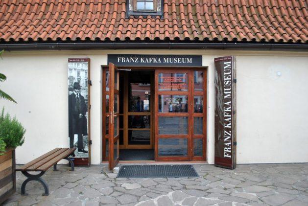 Praga, Franz Kafka Museum, ingresso