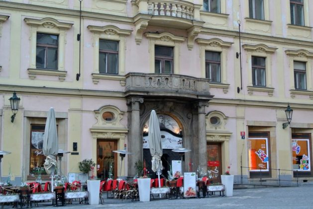 Praga, qui stava la casa natale di Kafka