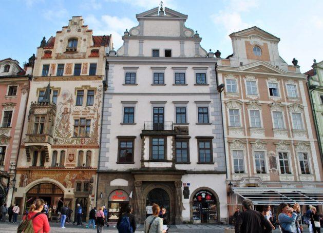 Piazza della Città Vecchia, Casa dell'Unicorno