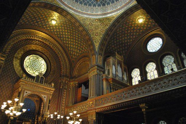 Praga, Sinagoga Spagnola, interno