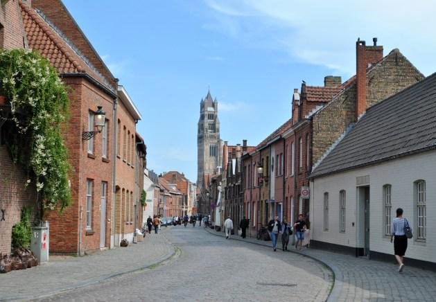 Viaggio letterario a Bruges, strada