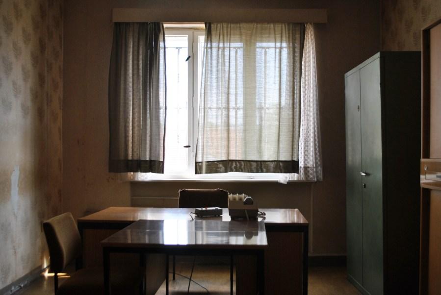 prigione di Hohenschönhausen, Berlino, stanza per interrogatori