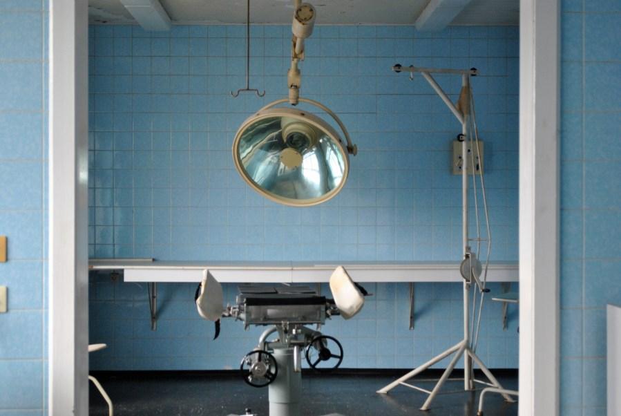 prigione di Hohenschönhausen, Berlino, ospedale del carcere, sala operatoria