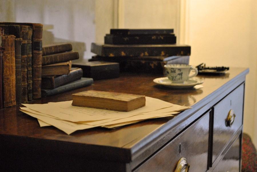 Brontë Parsonage Museum, stanza dei bambini, particolare