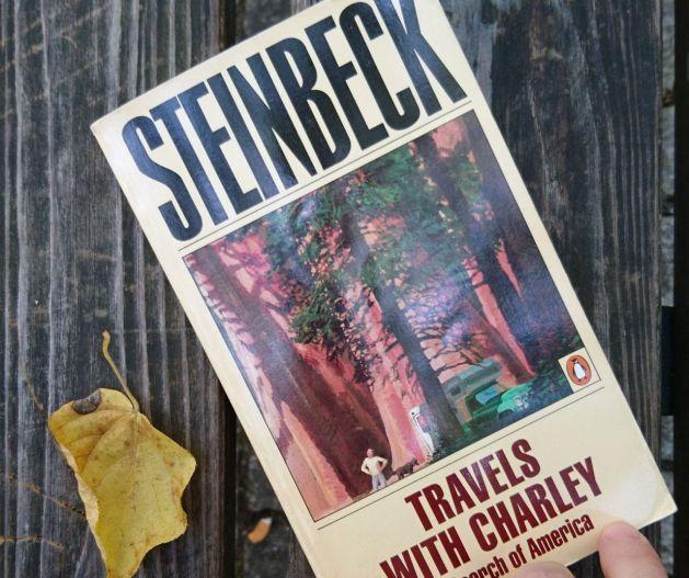La mia copia di Travels with Charley