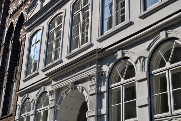 Buddenbrookhaus, facciata, particolare