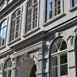 Buddenbrookhaus, particolare della facciata
